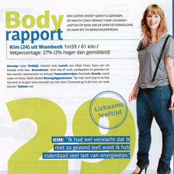 Flair: Body rapport - mei