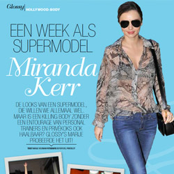 Glossy: Een week als supermodel - november